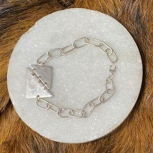Karen Silver Bracelet