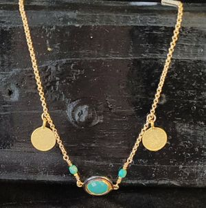 Amazonite Gold-Filled Necklace