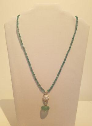 Aquamarine & Sea Glass