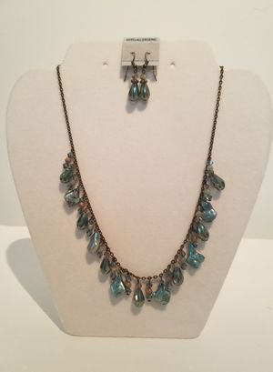 NECKLACE: Baroque Pearl, Jasper, Crystal