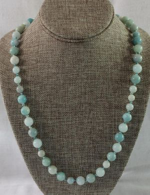 Knotted Amazonite Necklace