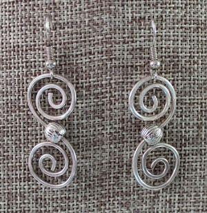 Celtic Curl Earrings