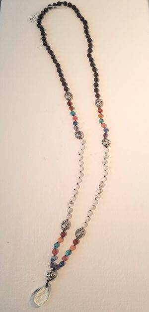 Chakra Mala Style Necklace