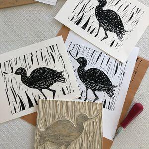 Dec 5: Block Printmaking