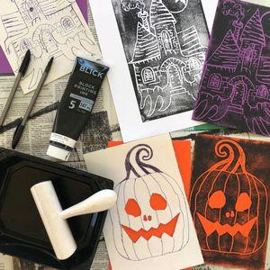 Oct 30: Halloween Printmaking for Kids