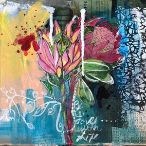 Mixed Media Basics and Beyond: April 25