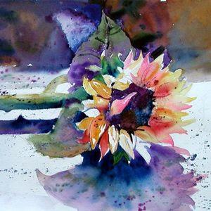 Oct 9: BLOOMS! Flowers in Watercolor