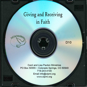 Giving and Receiving in Faith
