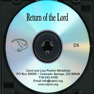 Return of the Lord