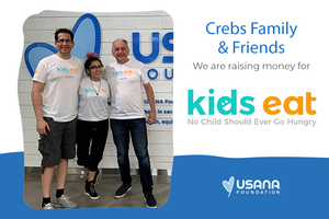 Help Feed Children by Partnering with USANA Kids Eat