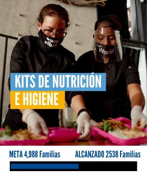 Kits de nutrición e higiene