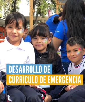 Desarrollo de Currículo de Emergencia para Educación Inicial en México
