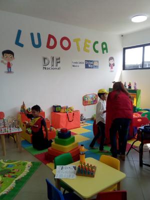 Primera infancia: Espacios de juego (Ludotecas) para niños y niñas en México