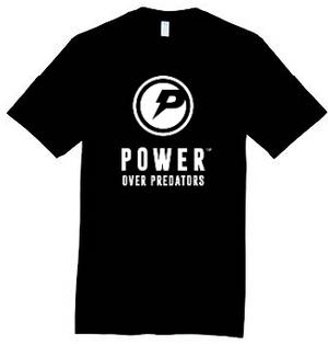 Power Over Predators   t-shirt
