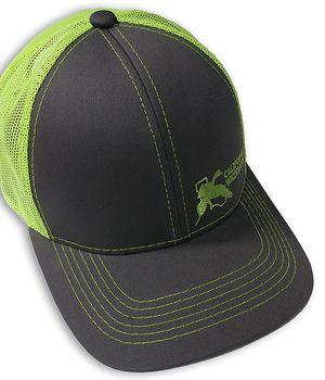 Charcoal Neon Mesh CWA Hat