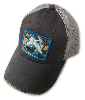 Charcoal Mesh CWA Hat W/ Patch
