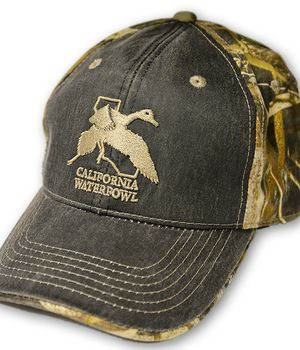 CWA Max 5 Camo Hunting Hat with Distressed Front Panel