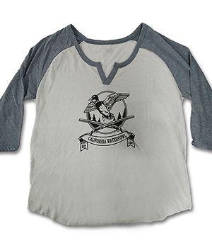 Women's 3/4 Sleeve CWA T-shirt