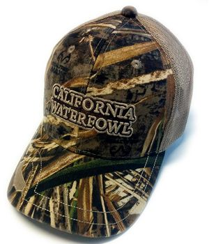 CWA MX5 Mesh Camo Hat