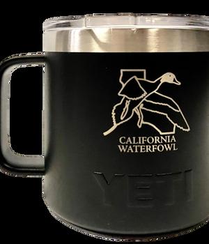 YETI 14oz. CWA Coffee Mug - Black