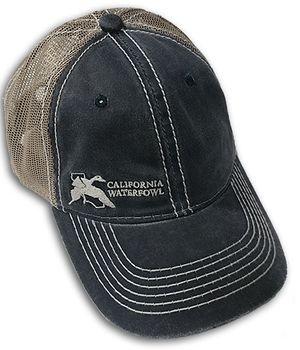 Navy Mesh CWA Hat