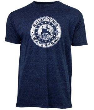 California Waterfowl Men's Midnight Blue Shirt