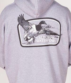 California Waterfowl Men's Gray Hoody
