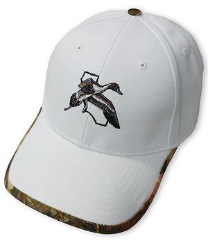 CWA Stone Hat with Camo Trim