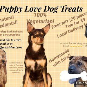 Puppy Love Dog Treats-Finley Gelfand