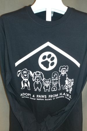 Adopt 4 Paws from HAWS - Black