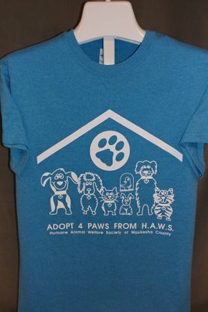 Adopt 4 Paws from HAWS - Blue