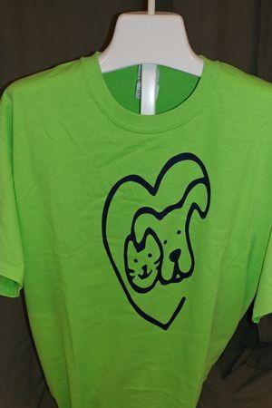 Dog & Cat - SALE - Lime Green Short Sleeve