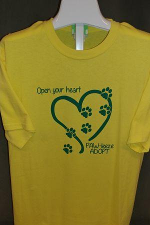Open Your Heart - SALE - Short Sleeve Tee
