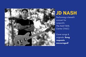 Benefit Concert by JD Nash for TASC