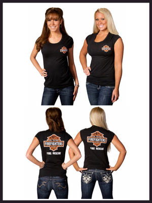 Womens Fire Rescue Tee